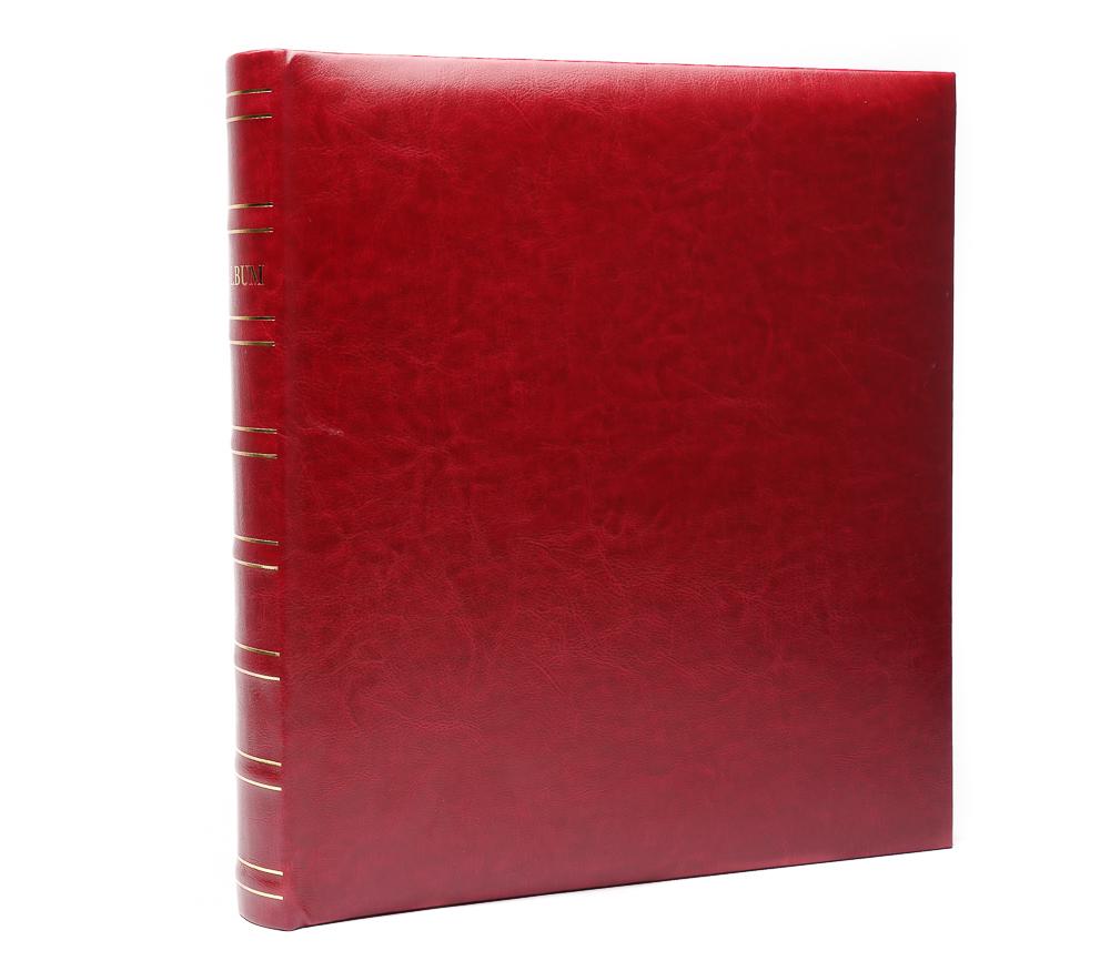 Фотоальбом Fotografia магнитный 29х32 см, 30 листов, «Классика», бордовый фото