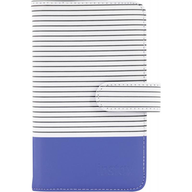 Фотоальбом Fujifilm Instax Mini Striped Album Cobalt Blue фото