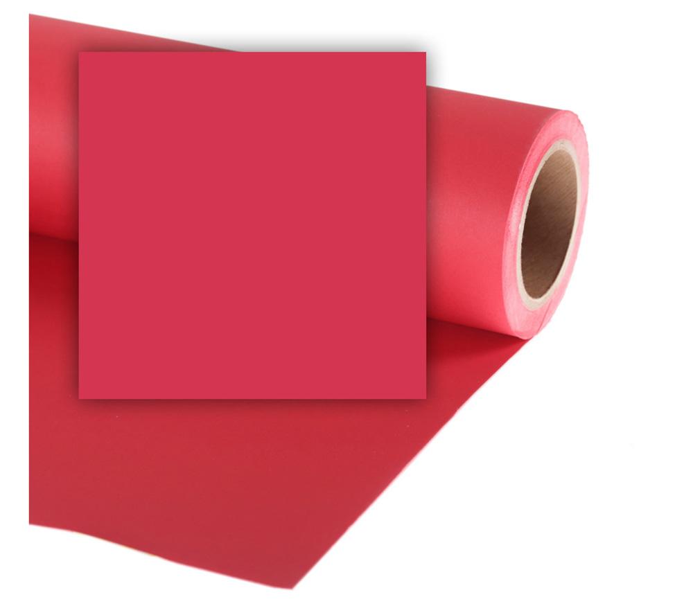 Фон Colorama Cherry, бумажный, 2.7x11 м, вишневый фото