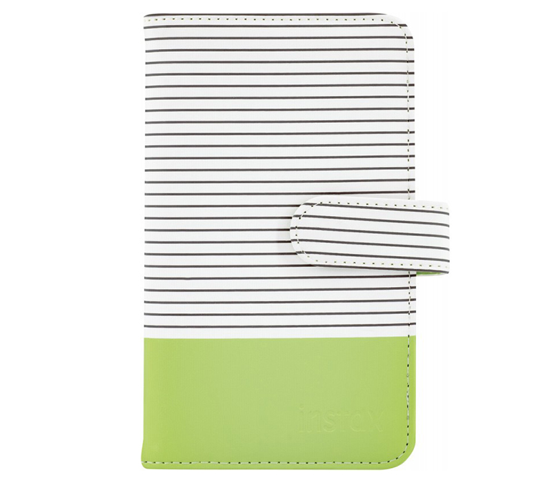 Фотоальбом FUJIFILM Instax Mini Striped Album Lime Green фото