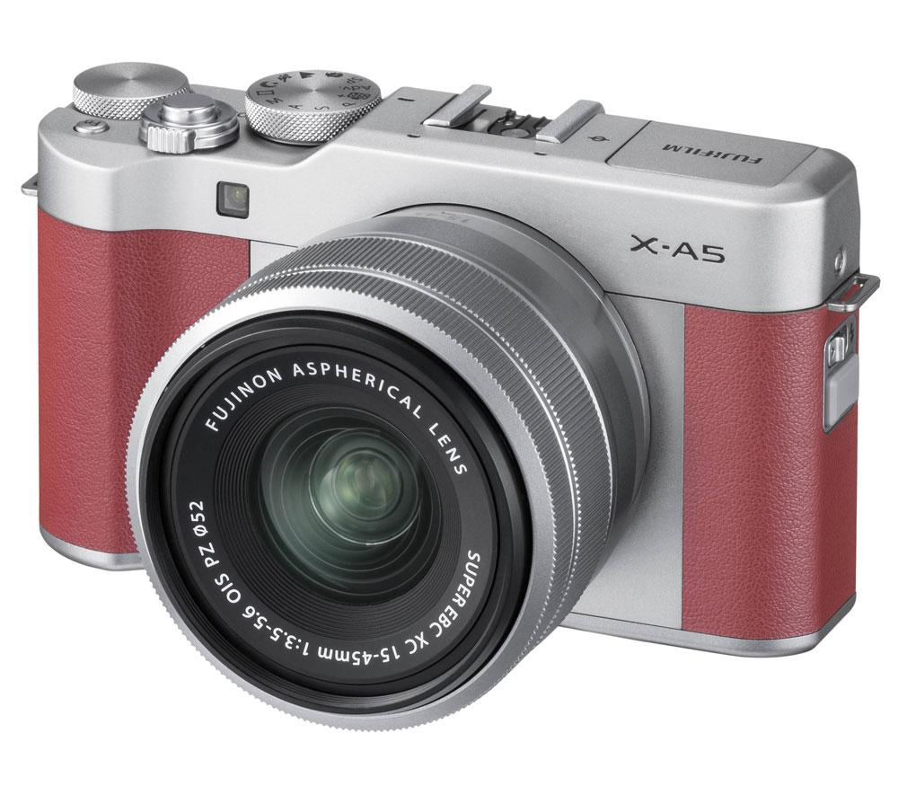 Системная фотокамера FUJIFILM X-A5 kit pink + XC 15-45mm f/3.5-5.6 OIS PZ фото