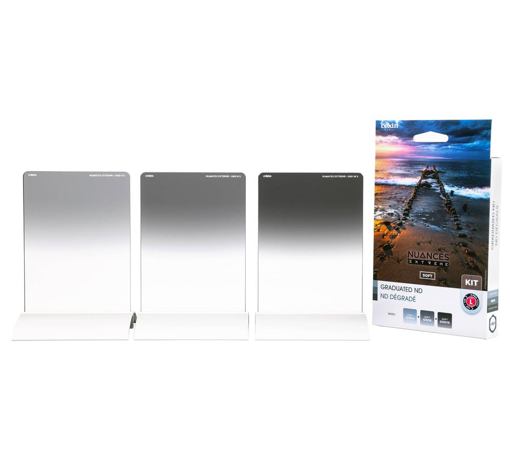 Светофильтры COKIN Nuances Extreme Soft Graduated Kit NKZSO, L (100x144 мм) фото