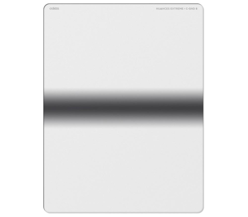 Светофильтр COKIN Nuances Extreme ND8 Centre Grad (NXXCG8), размер XL (130х170 мм) фото