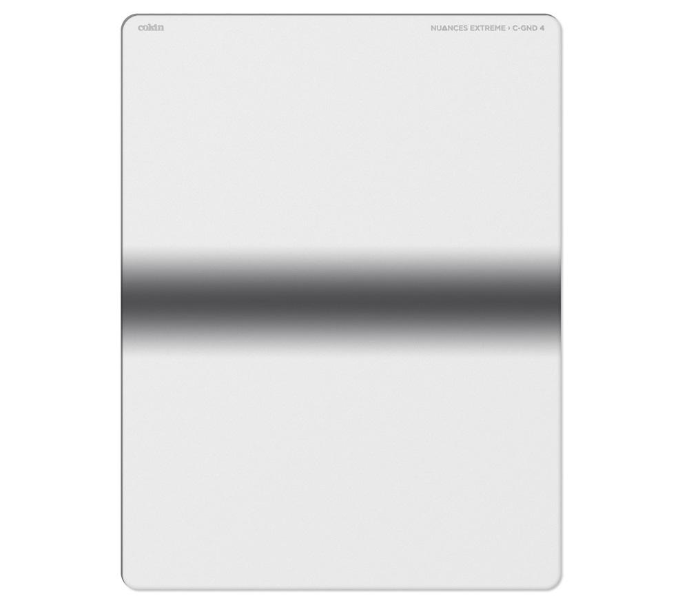 Светофильтр COKIN Nuances Extreme ND4 Centre Grad (NXXCG4), размер XL (130х170 мм) фото