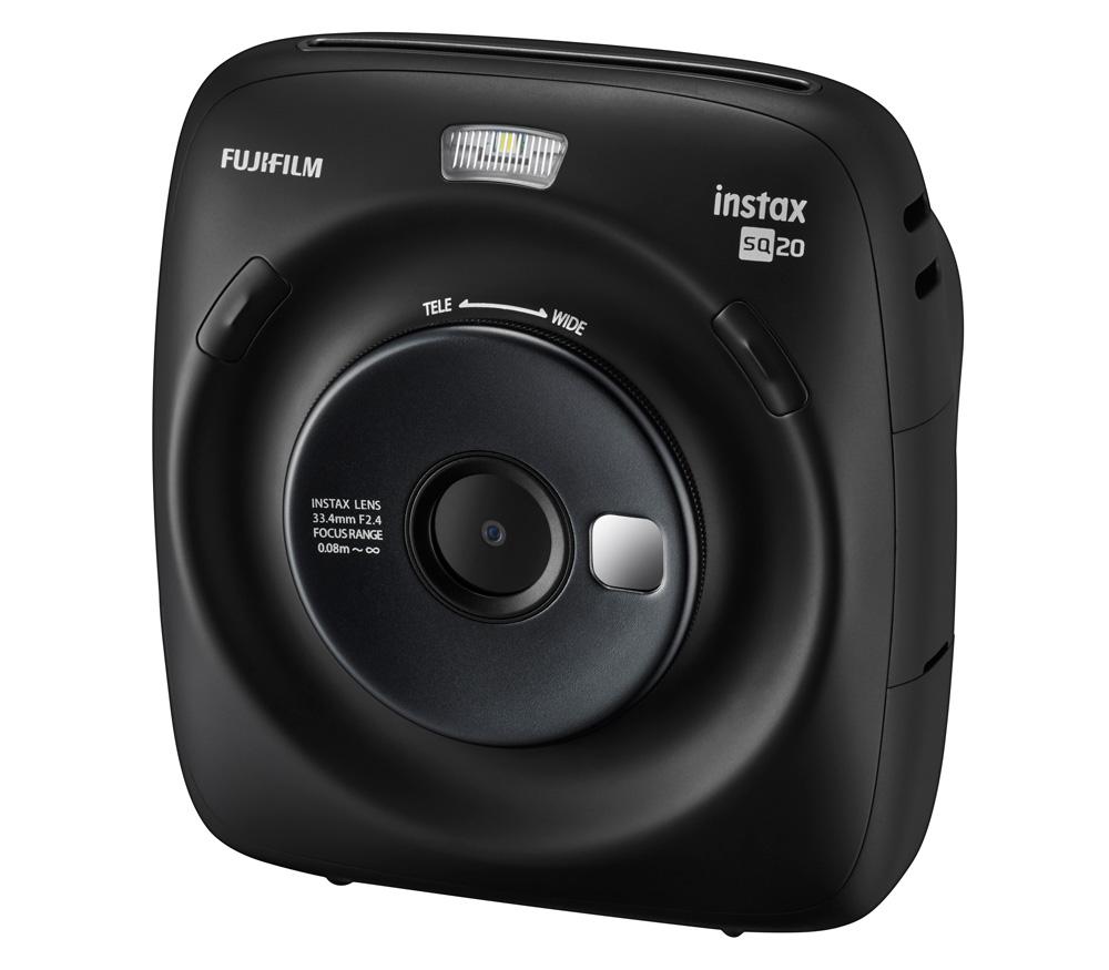 Фотоаппарат моментальной печати Fujifilm Instax SQUARE SQ20 черный уцененный
