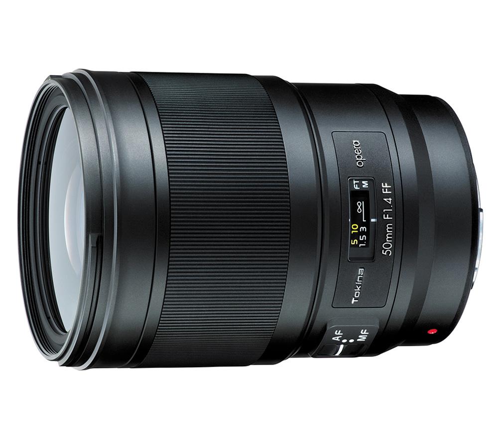 Объектив TOKINA Opera 50mm F1.4 FF AF для Canon фото