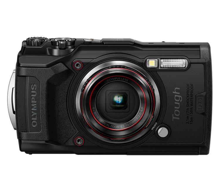 Компактный фотоаппарат Olympus Tough TG-6, черный фото
