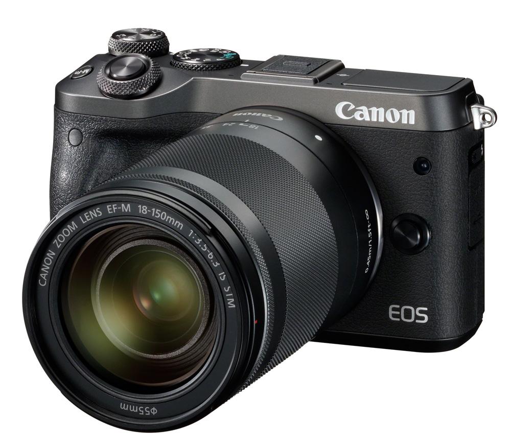 Фотоаппарат со сменной оптикой CANON EOS M6 Kit + EF-M 18-150mm IS STM фото