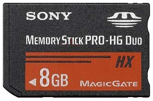 Карта памяти Sony Memory Stick PRO-HG Duo  HX 8GB