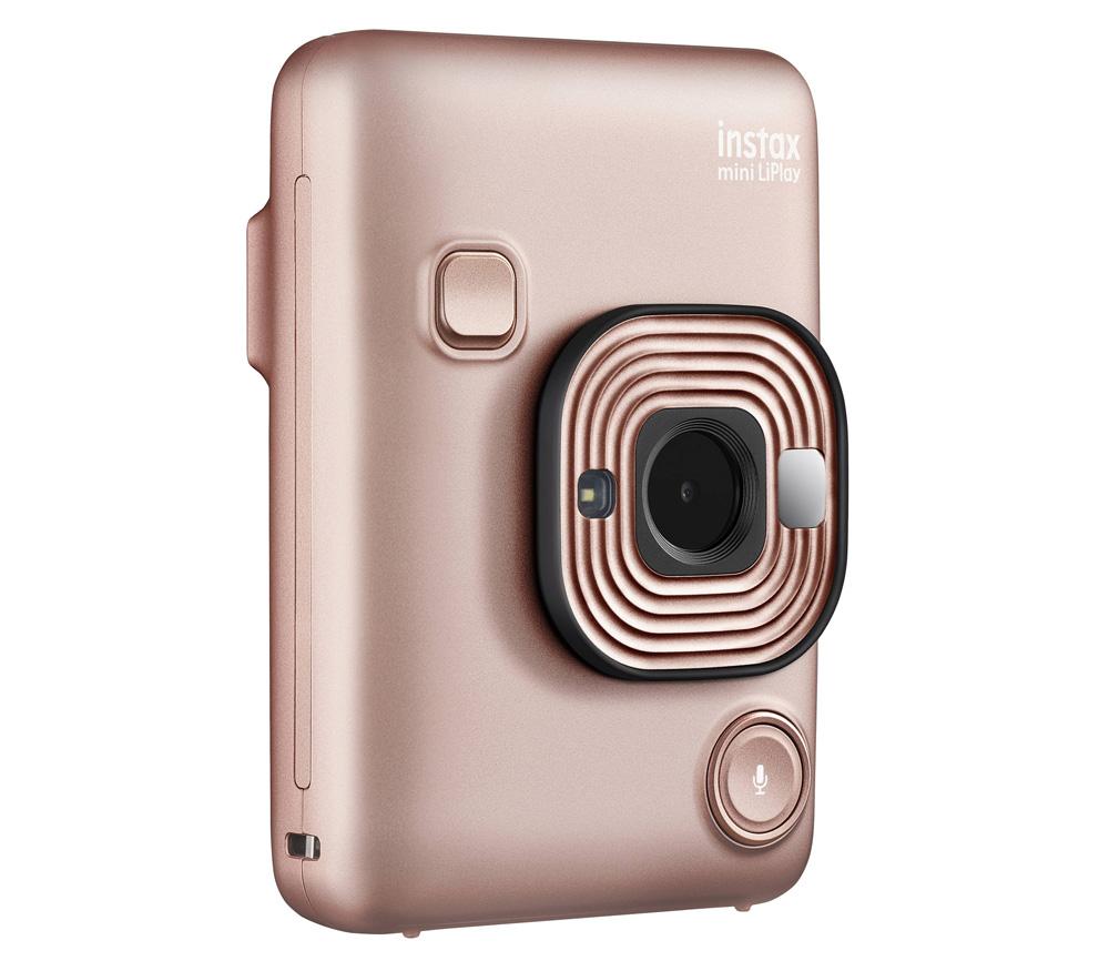 Фотоаппарат моментальной печати Fujifilm Instax mini LiPlay, розовый фото