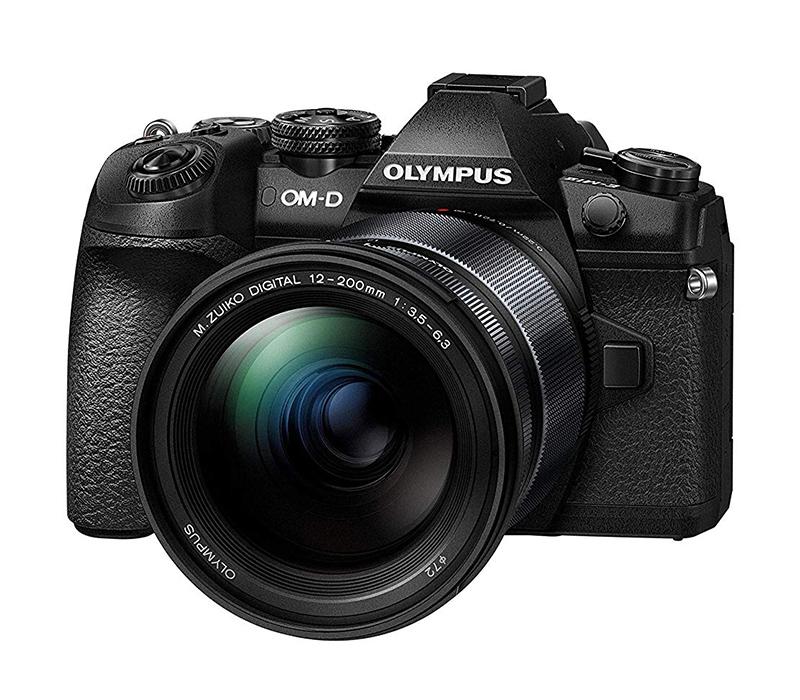 Беззеркальный фотоаппарат Olympus OM-D E-M1 Mark II Kit Black + ED 12-200/3.5-6.3 фото