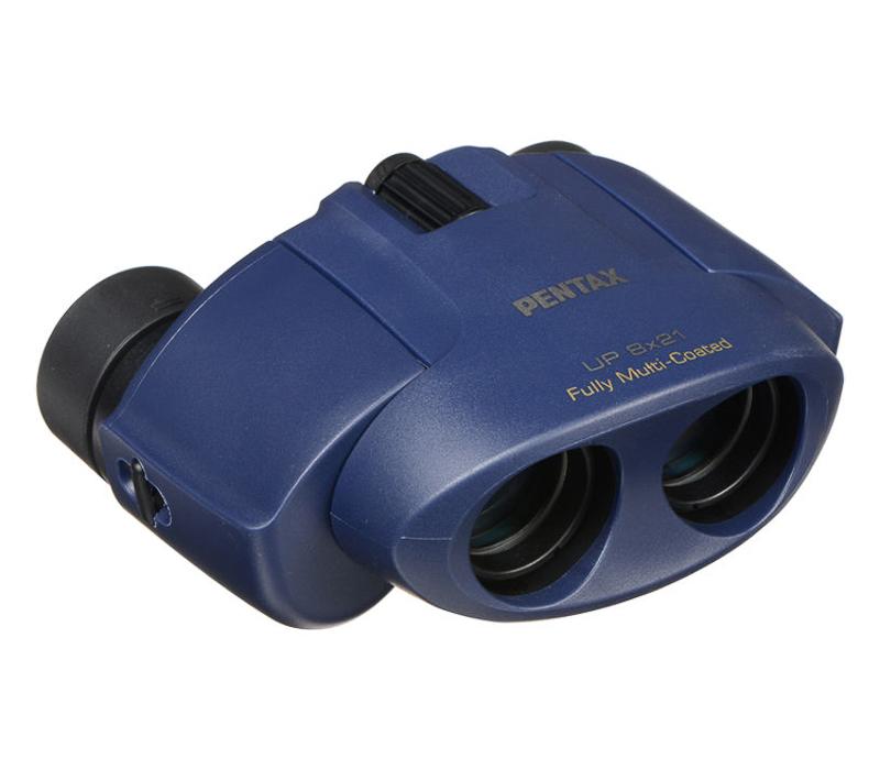 Бинокль Pentax UP 8x21, синий фото