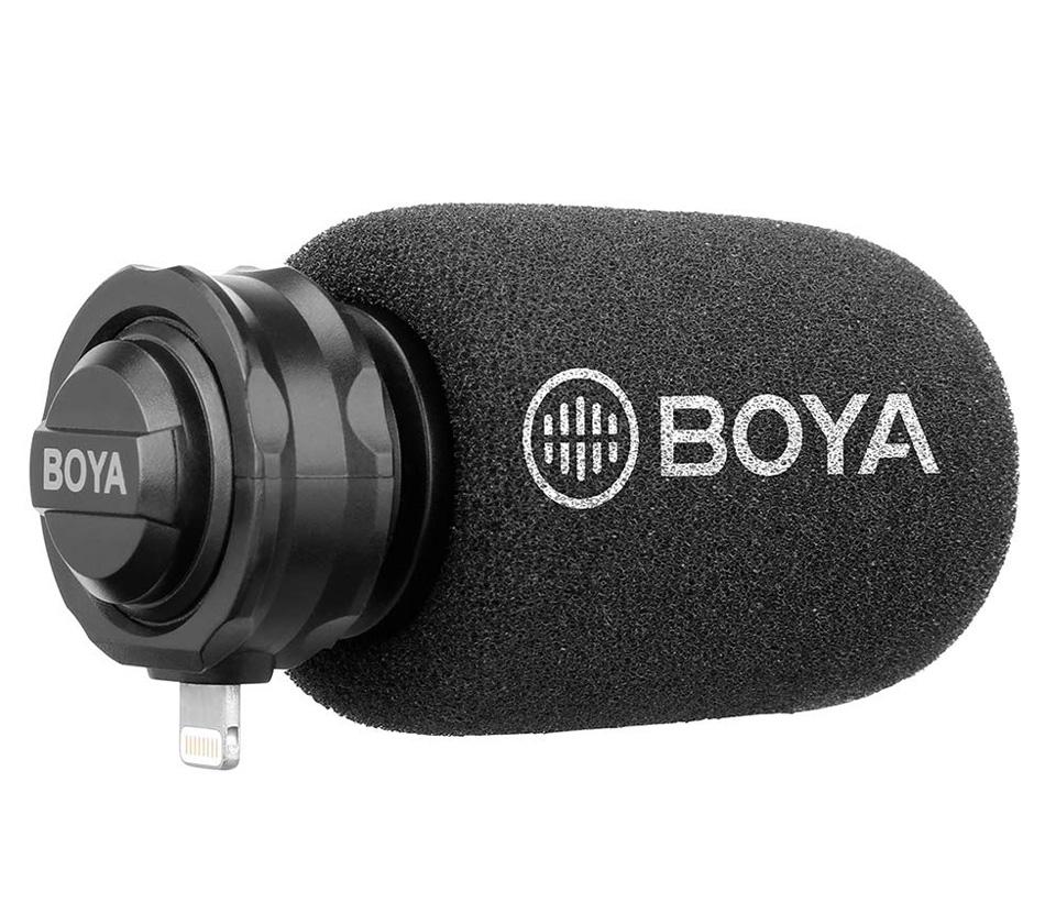 Микрофон Boya BY-DM200, для смартфонов Apple, стерео, Lightning фото