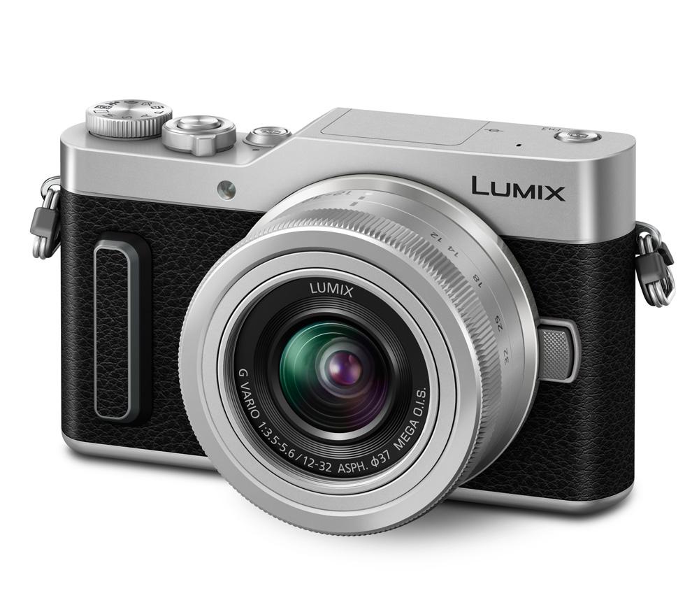 Фотоаппарат со сменной оптикой PANASONIC Lumix DC-GX880 Kit 12-32mm серебристый фото