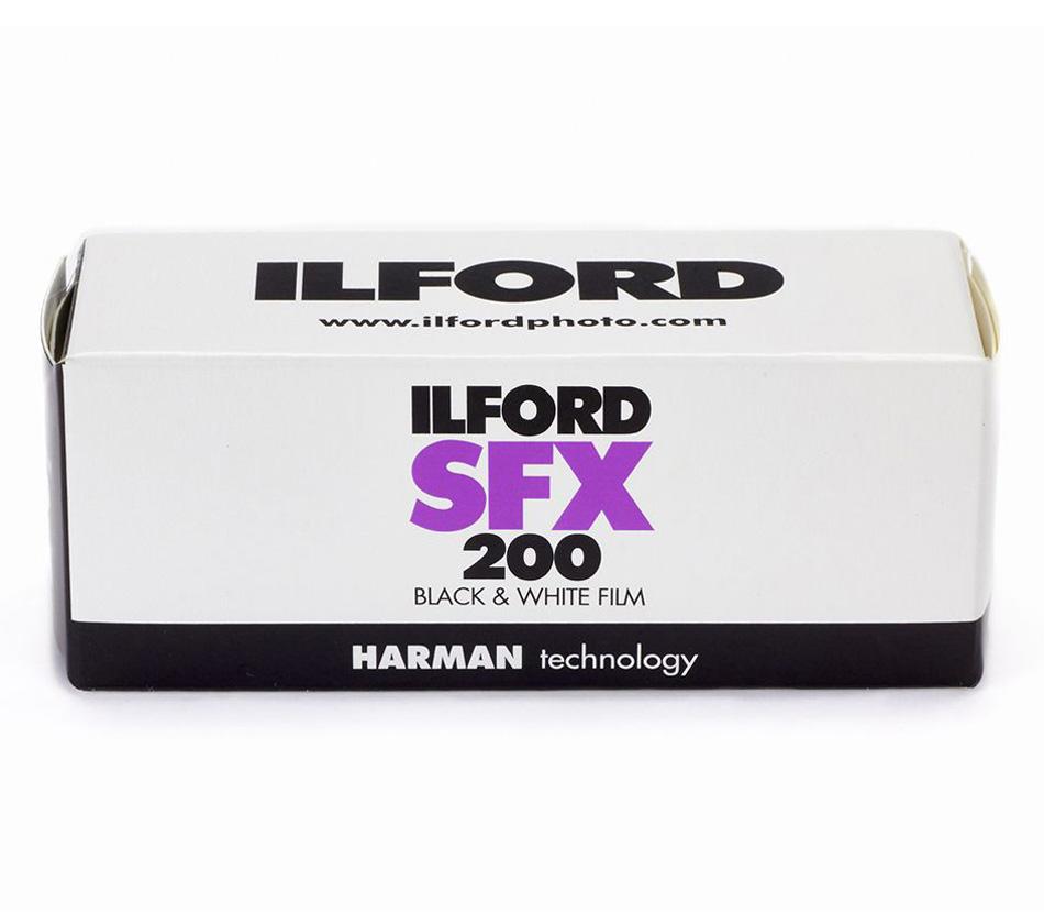 Фотопленка ILFORD SFX 200 - 120 фото