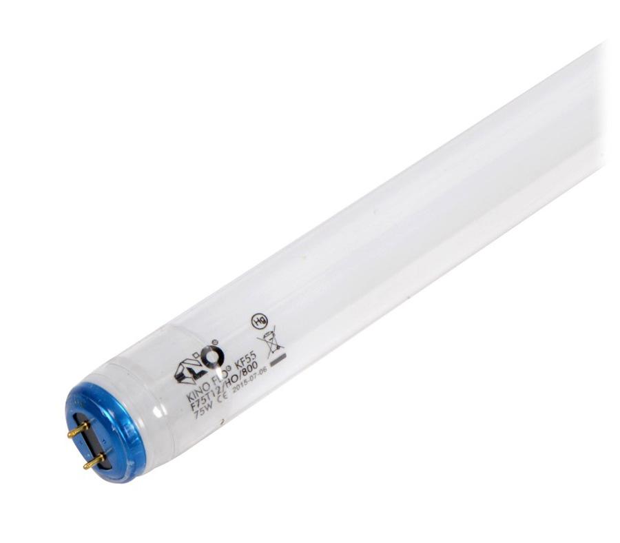 Лампа люминесцентная KINO FLO True Match T12/75W KF55 Safety Coated, 5500К (488-K55-S) фото