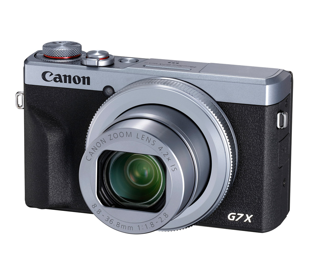 Компактный фотоаппарат CANON PowerShot G7 X Mark III, серебристый фото