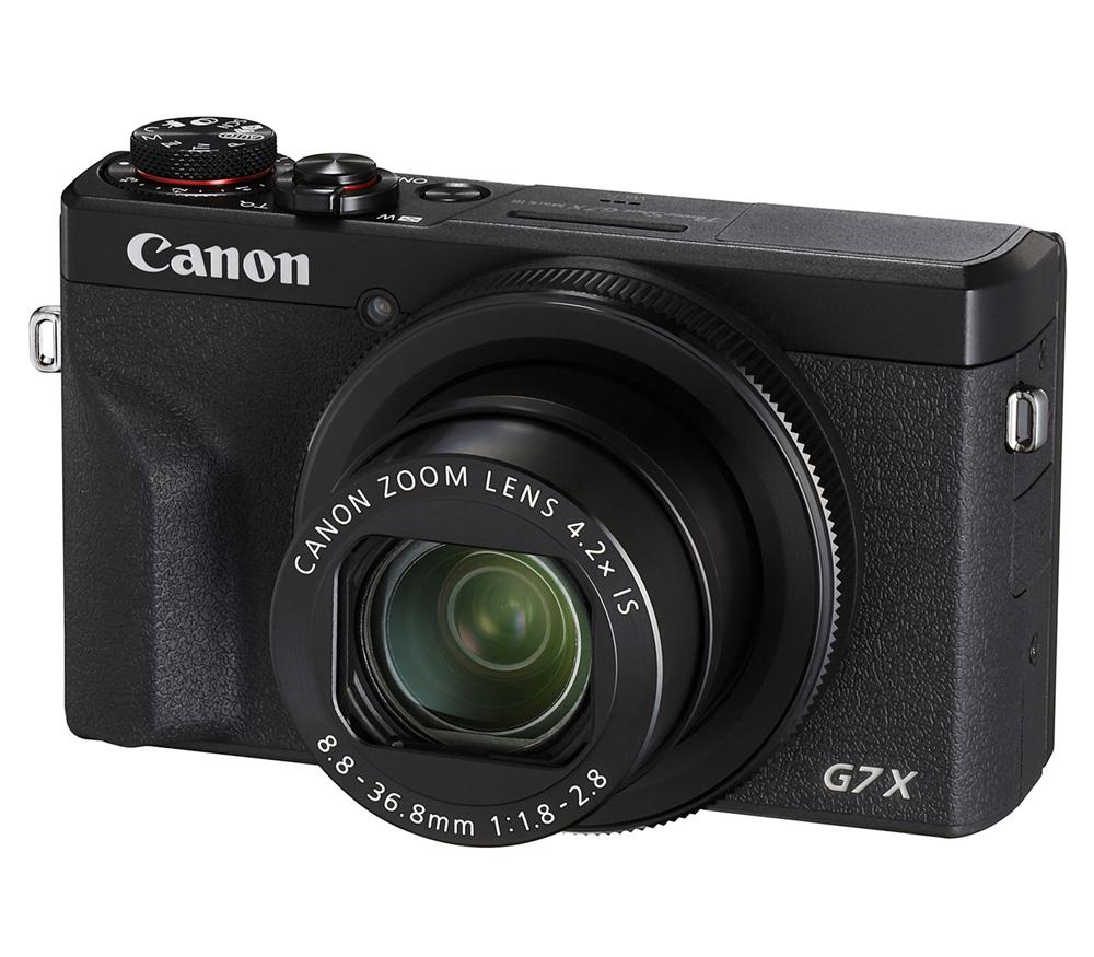 Компактный фотоаппарат CANON PowerShot G7 X Mark III, черный фото