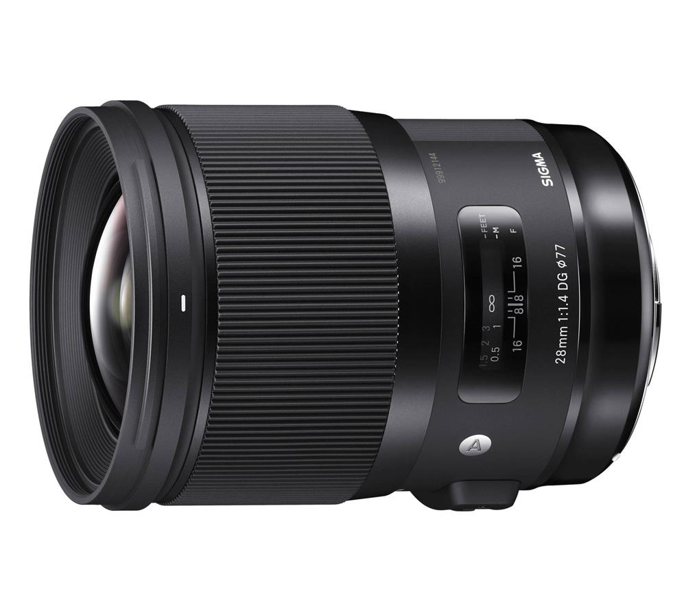 Объектив Sigma 28mm f/1.4 DG HSM Art Canon EF