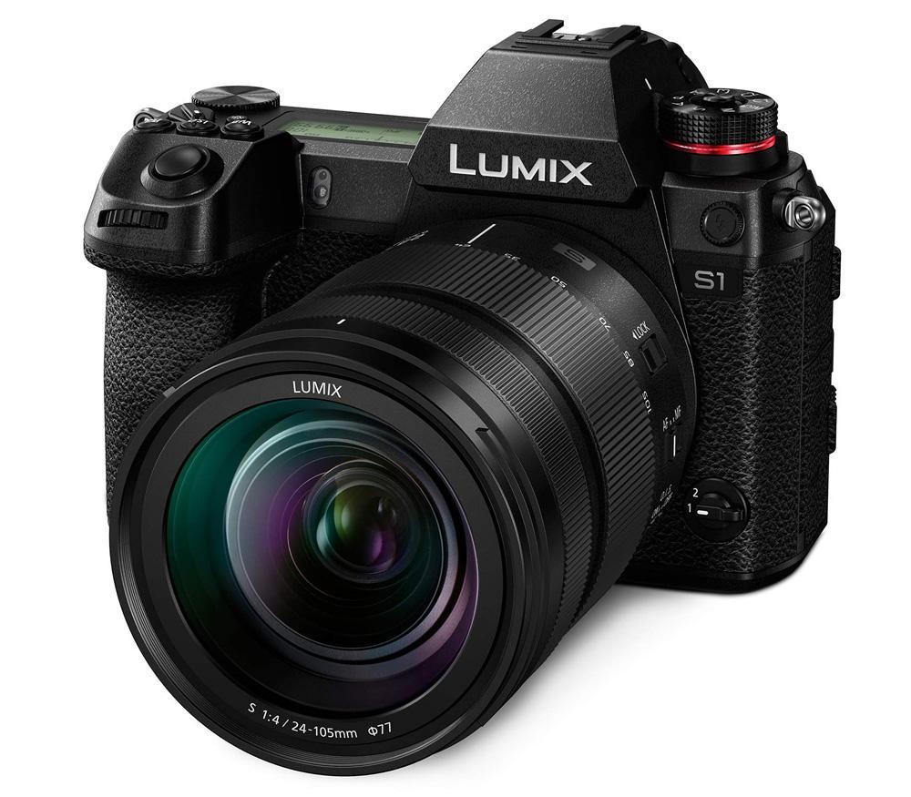 Беззеркальный фотоаппарат Panasonic Lumix DC-S1 Kit + 24-105mm (с V-Log)