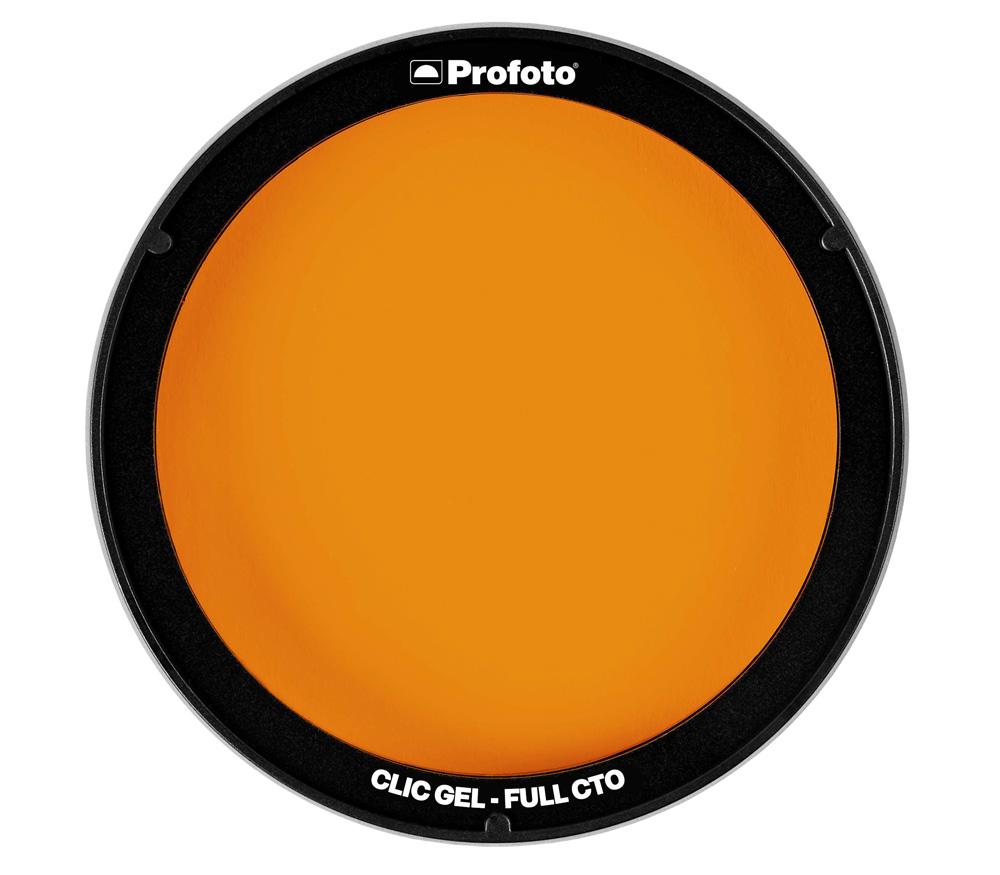 Фильтр для вспышки Profoto Clic Gel Full CTO, для A1, A1X, A10, C1 Plus