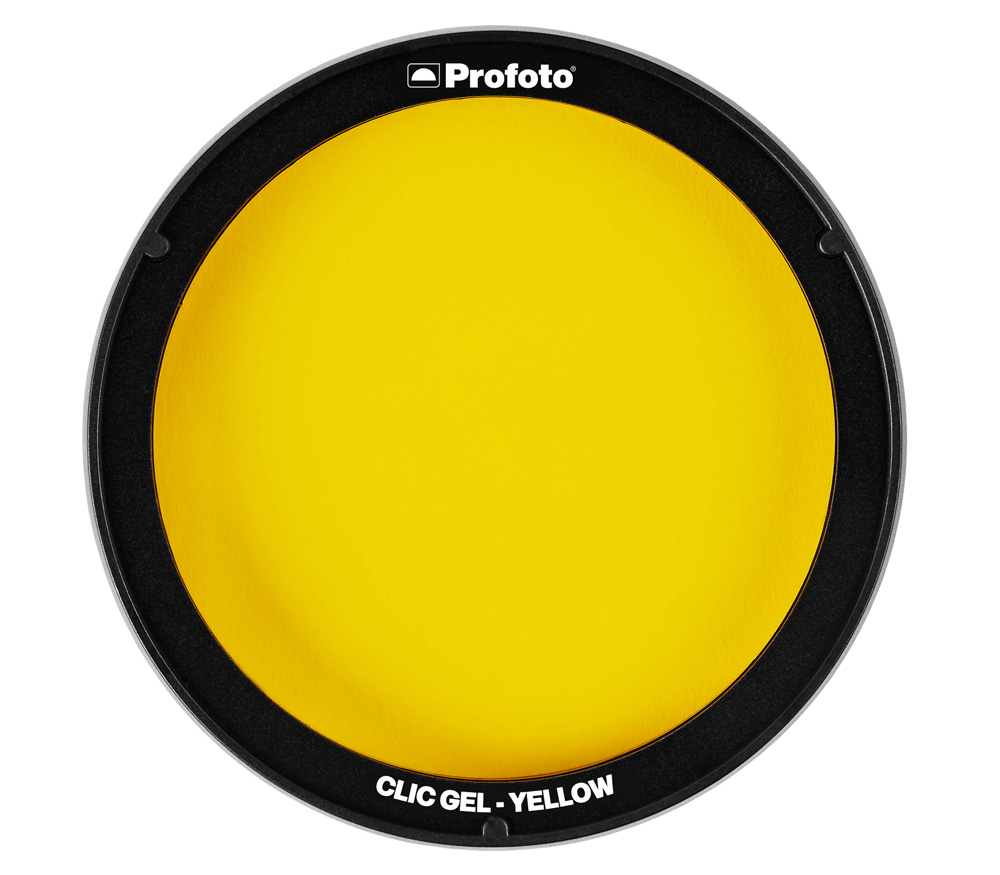 Фильтр для вспышки Profoto Clic Gel Yellow для A1, A1X, A10, C1 Plus