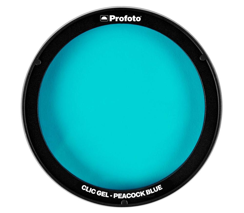 Фильтр для вспышки Profoto Clic Gel Peacock Blue для A1, A1X, A10, C1 Plus
