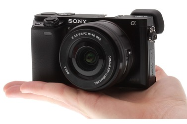 Small z sony a6000 onhand