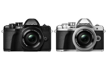 Small olympus om d e m10 mark iii silver black news 1