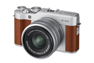 Small fujifilm x a5 kit brown 1