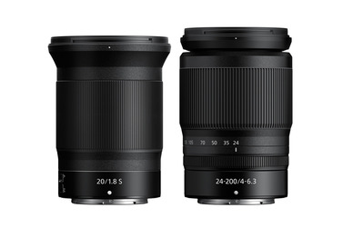 Small nikkor z 20mm 24 200mm compared 1