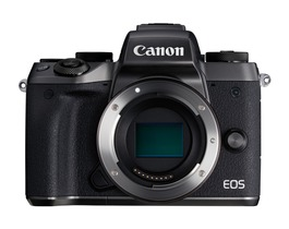 Small eos m5 lens off frt