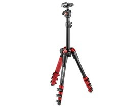 Small small manfrotto befree one alu red 1