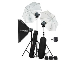 Small elinchrom d lite rx one 3 head