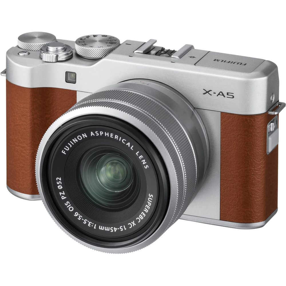 Fujifilm X-A5 brown