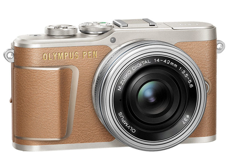 Olympus PEN E-PL9 14-42 EZ kit brown