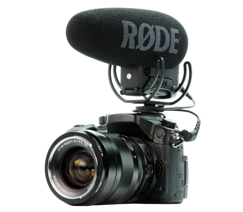Rode Videomic Pro Plus на Panasonic GH4