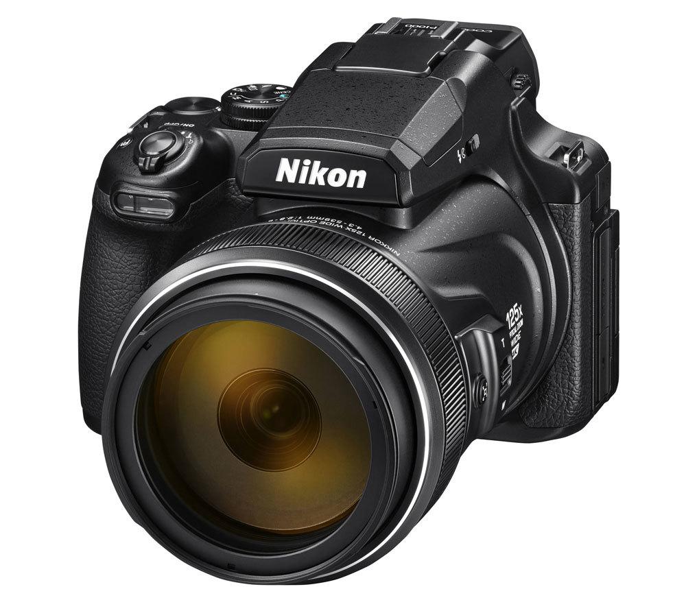 Nikon Coolpix P1000 front-side