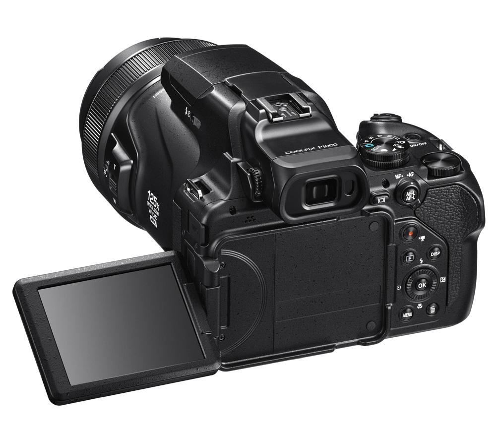 Nikon Coolpix P1000 back