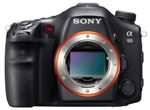 Sony SLT-A99 body front