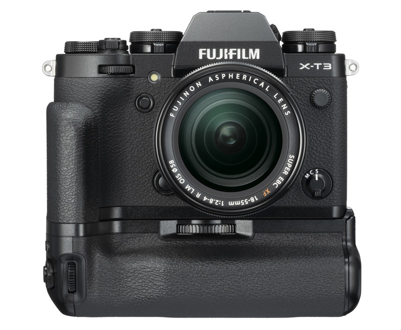 Fujifilm X-T3 black with battery grip