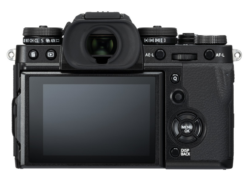 Fujifilm X-T3 black back