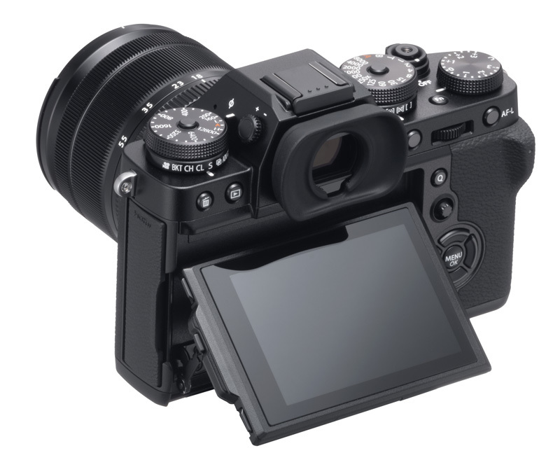 Fujifilm X-T3 black side