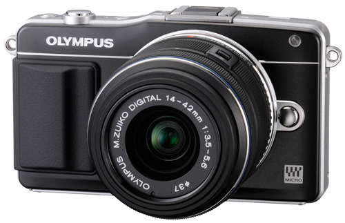 Olympus Pen E-PM2 side view