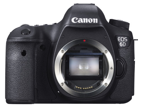Canon EOS 6D body front view