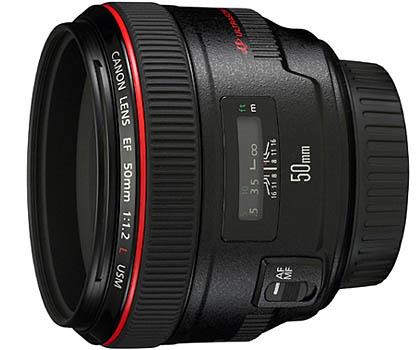 Объектив Canon EF 50/1.2 L USM