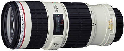 Объектив Canon EF 70-200/4.0 L IS USM.