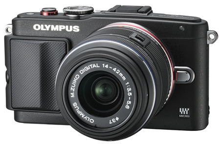 Olympus PEN E-PL6 Kit 14-42 II R black