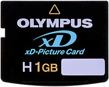 xD-Card 1Gb OLYMPUS (Type H) Panorama High speed