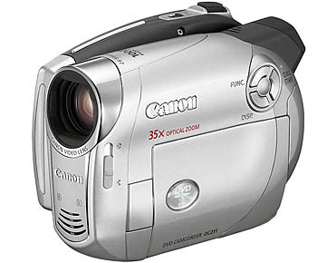 Цифровая DVD-видеокамера CANON DC211